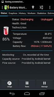 Battery Monitor Widget Pro - screenshot thumbnail