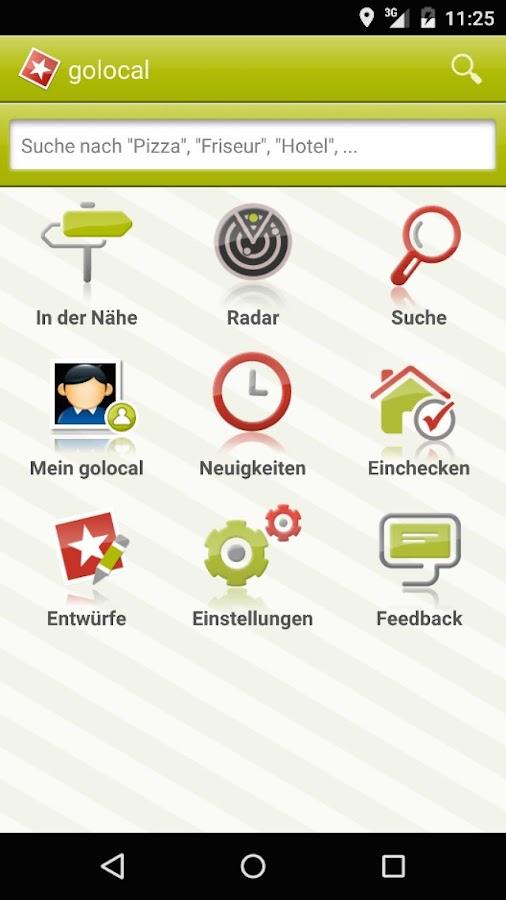 golocal - screenshot