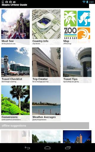 Miami Offline Travel Guide