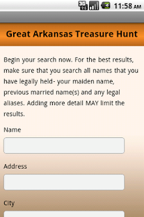 Unclaimed Property Search - screenshot thumbnail