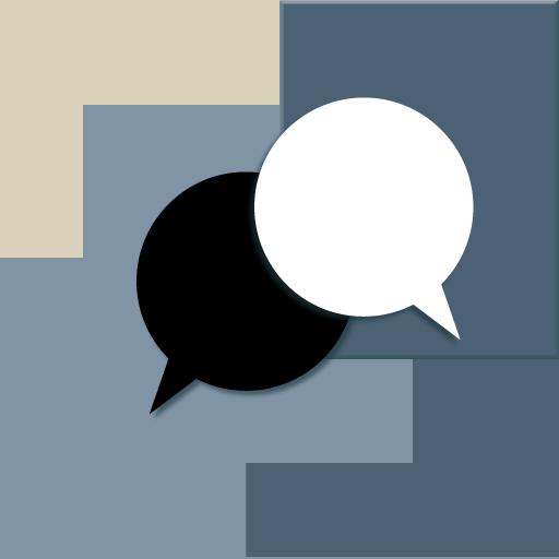 個人化必備App Blue Gray Tan Go SMS Theme LOGO-綠色工廠好玩App