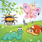 Insects Puzzles for Toddlers ! icon