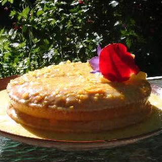 Blue Ribbon White Cake
