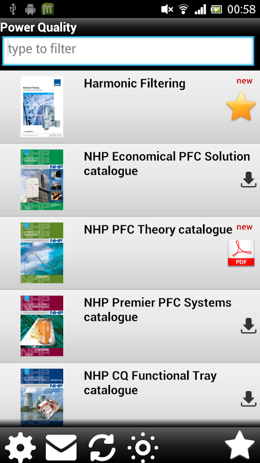 NHP eCatalogues- screenshot
