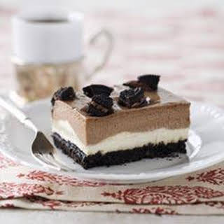 Double-Decker OREO Cheesecake.