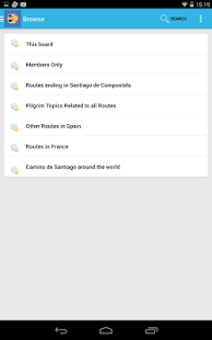 Camino de Santiago Forum - screenshot thumbnail