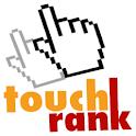 TouchRank Halloween logo