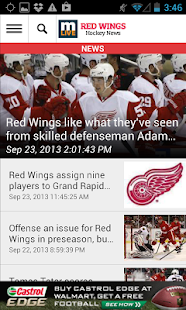 MLive.com: Red Wings News - screenshot thumbnail