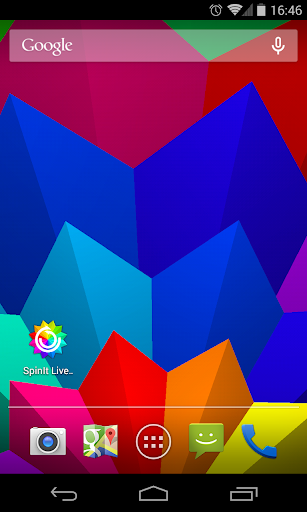 SpinIt Live Wallpaper