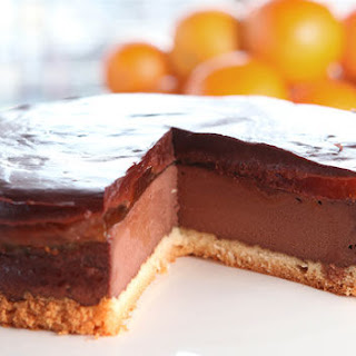 Jaffa Cake Cheesecake
