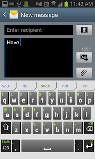 iKnowU Keyboard REACH FREE Screenshot 9