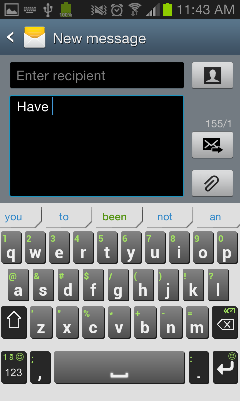 iKnowU Keyboard REACH FREE- screenshot