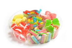סוכריות גומי מגש קטן