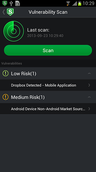 AirCover Security - screenshot