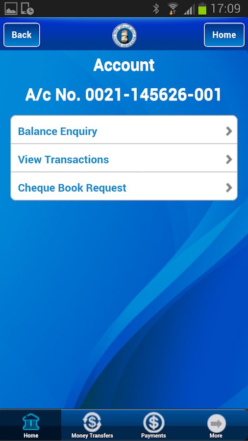 UAB MOBILE BANKING APPLICATION - screenshot