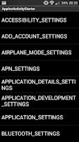 Screenshot of App Inventor ActivityStarter