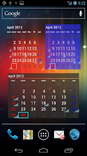 カレンダーウィジェット祝- screenshot thumbnail