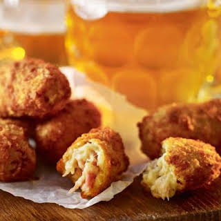 Ham And Blue Cheese Croquettes.