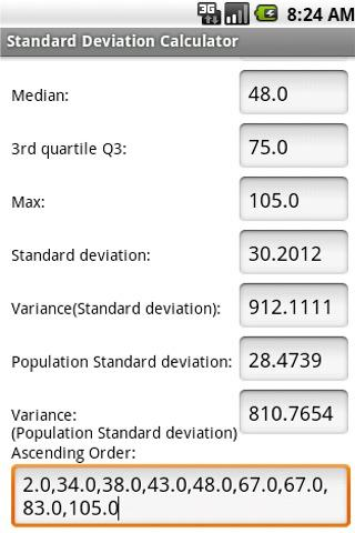 how to find standard deviation with calculator