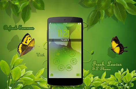 SL Fresh Leaves Theme