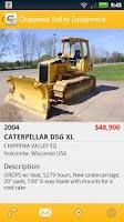 Screenshot of Chippewa Valley Equipment