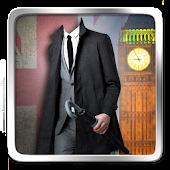 London Men Suit Photo Montage