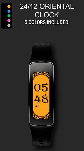24 12 Oriental Gear Fit Clock