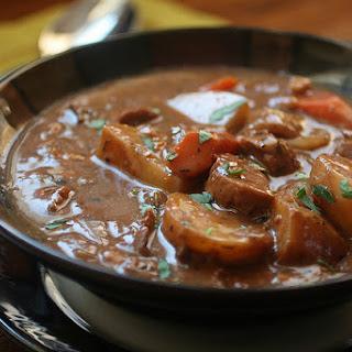 Seitan Porcini Beef Stew