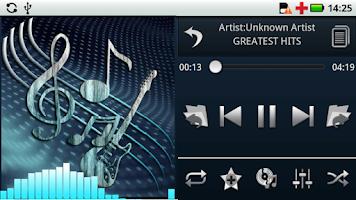 Screenshot of Euphony Music Player Trial