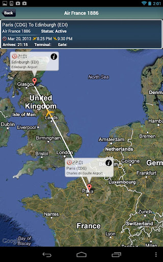 Edinburgh Airport + Radar EDI