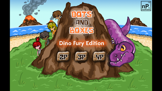 Dots and Boxes - Dino Fury- screenshot thumbnail