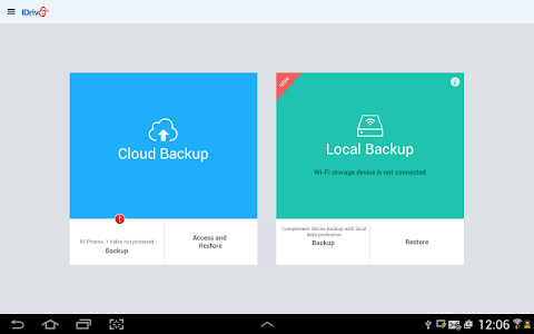 IDrive Online Backup v3.6.20