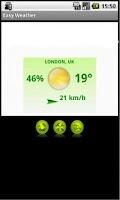 Screenshot of Easy Weather
