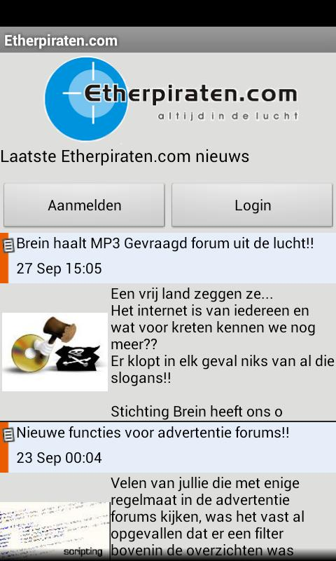 Etherpiraten.com - screenshot