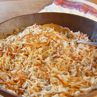 Rice and Noodle Pilaf.