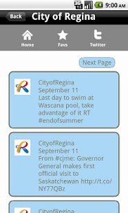 City of Regina CityApp - screenshot thumbnail