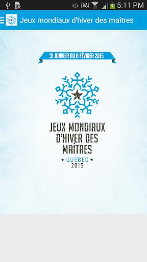 Jeux mondiaux des maîtres 2015