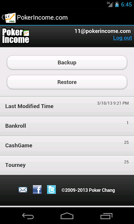 Poker Income ™ - Best Tracker- screenshot