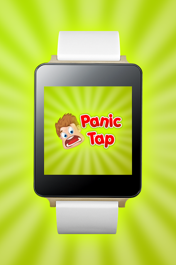 Panic Tap - Android Wear - screenshot