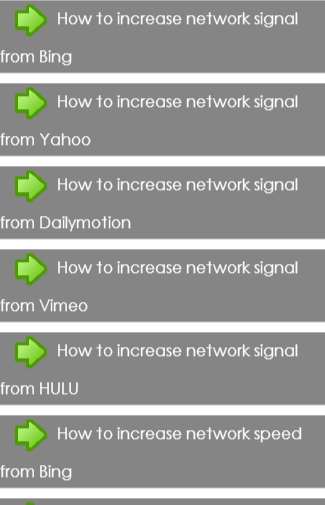 Increase network Tips