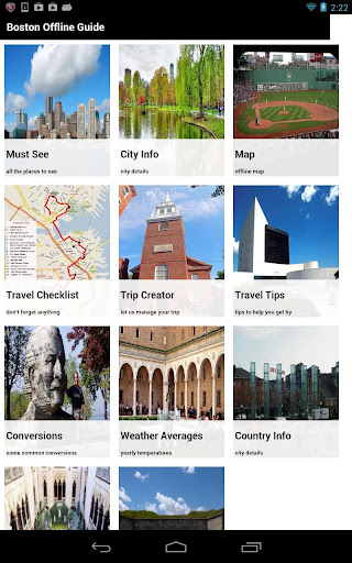 Boston Offline Travel Guide