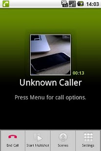 CallCam Pro screenshot