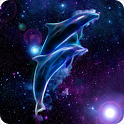 Galaxy Dolphins Magic Effect icon