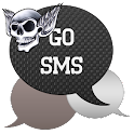 GO SMS - Skull Wings icon