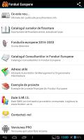 Screenshot of Fonduri Europene