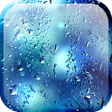 Blue Rain Live Wallpaper icon