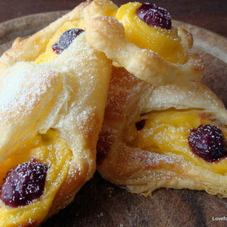 Quick & Easy Tea Party Cherry Custard Pastries