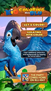Rio: Coloring with Blu - screenshot thumbnail