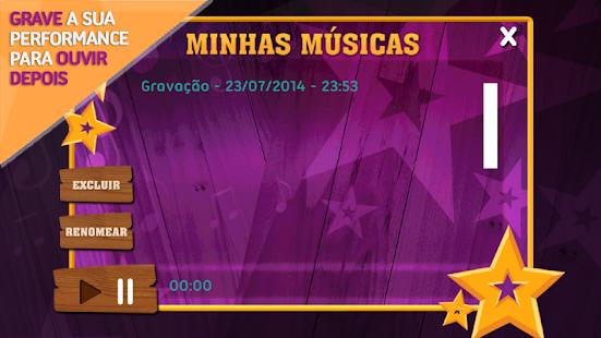 Gaby Estrella Karaokê - screenshot thumbnail