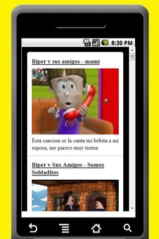 Canciones cristianas   niños - screenshot